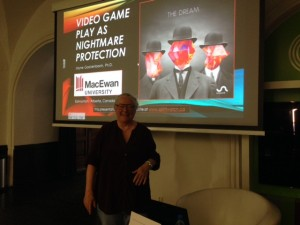 Gackenbach just before Unsound presentation in Krakow, Poland on Oct 12, 2014